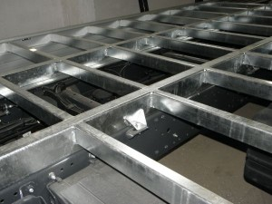 Galvanised sub-frame